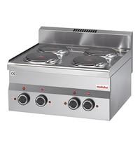 Modular Kooktoestel elektrisch  (cap.4st.) | Met 6 standen | 6kW |  600x600x280(h)mm