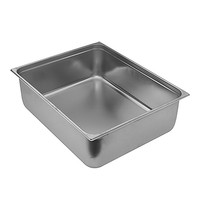 EMGA Gastronorm bak RVS | 30 liter | 2/1GN | 650x530x100(h)mm