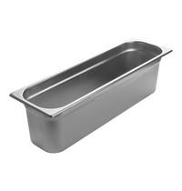 EMGA Gastronorm bak RVS | 8,6 liter | 2/4GN | 530x162x150(h)mm