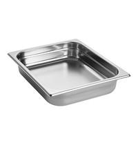 EMGA Gastronorm bak RVS | 4 liter | 1/2GN | 325x265x65(h)mm