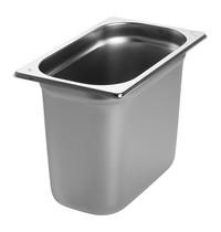 EMGA Gastronorm bak RVS | 4,8 liter | 1/4GN | 265x162x200(h)mm