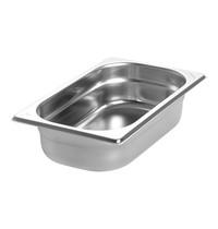 EMGA Gastronorm bak RVS | 1,7 liter | 1/4GN | 265x162x65(h)mm