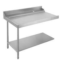 EMGA Aan/afvoer tafel 120(l)cm