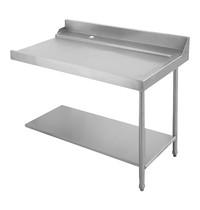 EMGA Aan/afvoer tafel 120cm