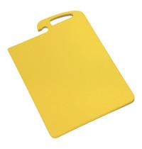 CaterChef Snijblad geel polyethyleen met geul ( gevogelte ) 45x30x1,5(h)cm