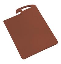 CaterChef Snijblad bruin polyethyleen met geul ( worst & gebraden vlees ) 45x30x1,5(h)cm