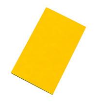 CaterChef Snijblad geel polyethyleen glad (gevogelte ) 50x30x1,5(h)cm