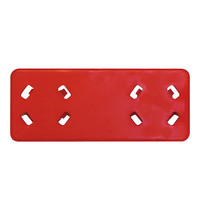 CaterRacks Kleurenclip rood | 120(b)x50(h)mm