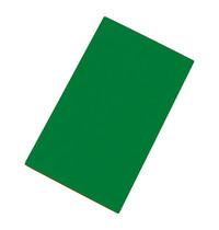 CaterChef Snijblad groen polyethyleen glad ( groente & fruit ) 50x30x1,5(h)cm
