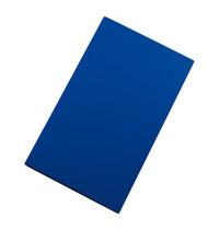 CaterChef Snijblad blauw polyethyleen glad ( vis )  50x30x1,5(h)cm