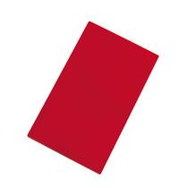 CaterChef Snijblad rood polyethyleen glad ( vlees ) 50x30x1,5(h)cm