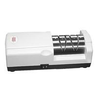 EMGA Messenslijper elektrisch 1 ruwe korrel slijpschijf & 1 fijne korrel slijpschijf   50W   22x9x7(h)cm