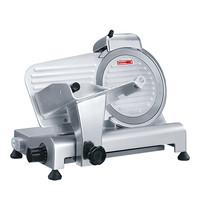 CaterChef vleessnijmachine Ø220mm | 120W | Dikte/glijplaat zijn van geanodiseerd aluminium | 450x280x320(h)mm