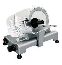 CaterChef vleessnijmachine Ø195mm | 120W | Traploos instelbare snijdikte 0-12mm | 390x240x290(h)mm