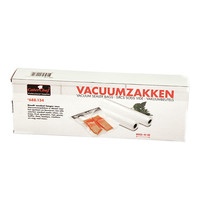 CaterChef Vacuumzakken set a 2 rollen | 6 meter lengte per rol | 40(b)cm