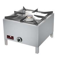 CaterChef Hokker  voorzien van extra grote brander | 11kW | 540x540x400(h)mm