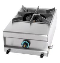 MACH Kooktoestel (cap.1st.) | 7,5kW | Zwaar gegoten werkrooster | 600x380x250(h)mm