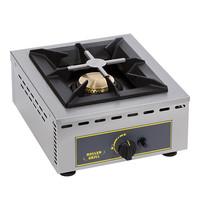 ROLLER GRILL Kooktoestel (cap.1st.) | 700W | Met gas sproeiers | 370x510x195(h)mm