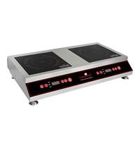EMGA Kooktoestel inductie   2x 3,5kw/h   met 10 temperatuur instellingen   /vermogen   420x330x110(h)mm