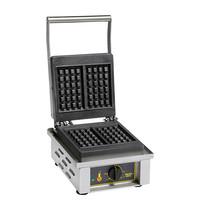 ROLLER GRILL Wafelijzer luikse | 1.6kW | lekbak en verlichte hoofdschakelaar |  305x440x230(h)mm