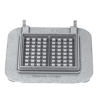 NEUMARKER wisselplaat set   2x 160x80x19mm