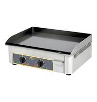 ROLLER GRILL Bakplaat elektrisch (60x40cm-glad) | Afzonderlijke thermostaten | 6kW | 620x450x190(h)mm