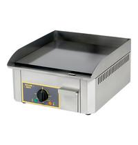 ROLLER GRILL Bakplaat (40x40cm-glad) | 3kW | Met thermostaat | 400x475x230(h)mm