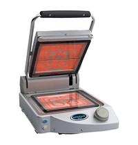 SPIDO COOK contactgrill Solo (glad/glad) | 1,5kW | vitro-keramisch braadvlak | 458x331x176(h)mm