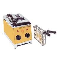 MILAN TOAST tosti-apparaat (cap.2st.) | 1,25kW | nmiddellijk na aanzetten gereed voor gebruik | 320x190x300(h)mm