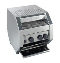 MILAN TOAST conveyor toaster (cap.500st.)   1,7kW    de transportband is geschikt voor twee rijen toast   340x410x410(h)mm