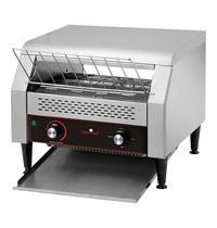 CaterChef Conveyor toaster (cap.700st.) | 2,64kW | Geschikt voor 3 rijen toast | 470x560x315(h)mm