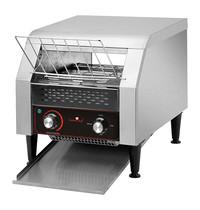 CaterChef Conveyor toaster (cap.500st.)   2,24kW   De transportband is geschikt voor 2 rijen toast   365x455x390(h)mm