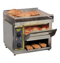 ROLLER GRILL conveyor toaster (cap.540st.)   2,65kW   thermostatisch apart instelbare boven- en onder quartz elementen   580x520x480(h)mm