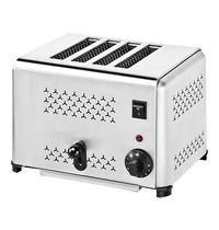 CaterChef Broodrooster (cap.4st.)   2,24kW    met energiebesparing   370x210x230(h)mm