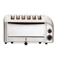DUALIT broodrooster (cap.6st.) |3kW | met energiebesparende selector-schakelaar | 220x460x220(h)mm