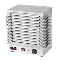 CaterChef Warmhoudplaten rechaud (cap.10st.) | 1,2kW | temperatuur variabel instelbaar d.m.v. traploze thermostaat | 370x245x440(h)mm
