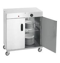 EMGA warmhoudwagen (cap.080st.) 1kW | geheel geïsoleerd | 440x720x800(h)mm