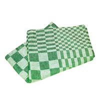 EMGA Keukendoek groen katoen 65x65cm