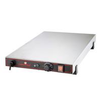 CaterChef Warmhoudplaat GN1/1 | 600W | thermostatisch instelbaar tot 75°C | 325x557x67(h)mm