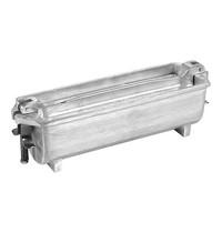 EMGA Pate vorm half rond gegoten aluminium | 250x80x80(h)mm