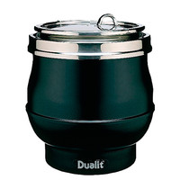DUALIT Soepketel met RVS stalen binnen pot en deksel  11L   750W   Ø34x33(h)cm