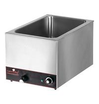 CaterChef bain marie GN1/1x1-200mm | 1,2kW | Met ingebouwd element | 615x355x297(h)mm