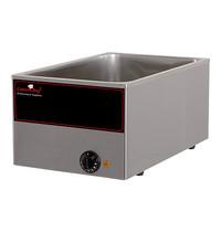 CaterChef Bain marie GN1/1x1-150mm | 1kW | Met regelbare thermostaat | 340x540x230(h)mm