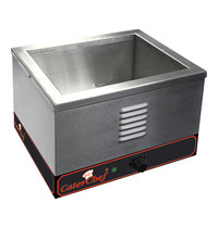CaterChef Bain marie GN1/2x1-150mm | 2kW | Met thermostaat | 370x310x270(h)mm