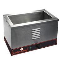 CaterChef bain marie GN1/3x1-150mm | 1kW | Met  thermostaat en controlelampje | 265x363x275(h)mm