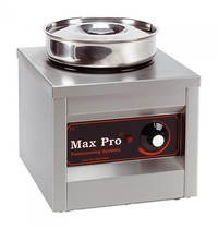 MAX PRO Chocolade warmer (cap.1st.) | 250W | Compacte roestvrijstalen vormgeving | 260x260x290(h)mm