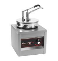 MAX PRO Sauzen-dispenser RVS 4,5L | 500W |Met gesloten deksel | 260x260x430(h)mm