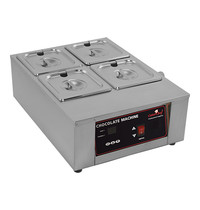 CaterChef chocolade warmer (GN2/3-100mm) | 1kW | digitaal bedieningspaneel met thermostaat | 483x385x186(h)mm
