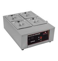 CaterChef Chocolade warmer (GN2/3-100mm) | 1kW | digitaal bedieningspaneel met thermostaat | 385x483x186(h)mm