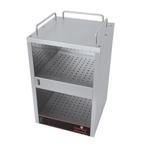 CaterChef Kopjes warmhoud apparaat RVS met apart te verwarmen etages | 230V | 360x410x540(h)mm